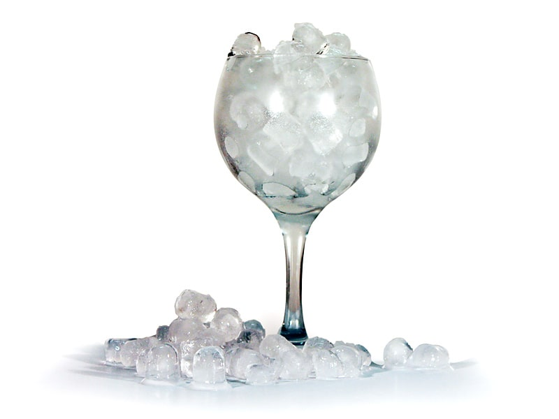 Cubitos de hielo para mojito