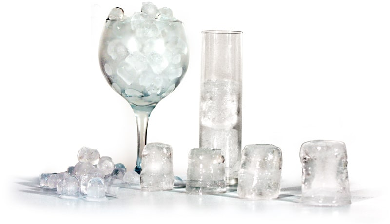Tipos de cubitos de hielo